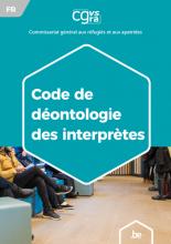 Brochure Déontologie du travail d'interprète et de traducteur