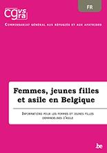 Brochure Femmes, jeunes filles et asile en Belgique