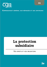 Brochure La protection subsidiaire